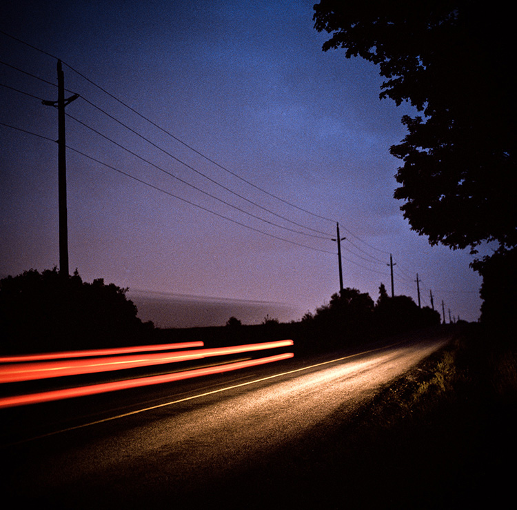 Toronto Fine Art Photography, Highway 7, going east bound. Light painting photography